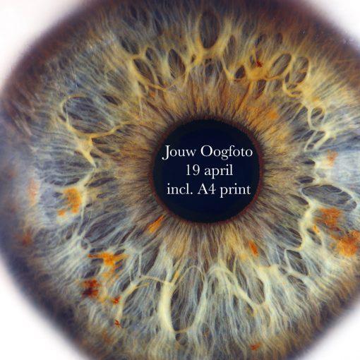 Oogfoto irisfotografie Amsterdam Jan Willem Groen Oogfotografie kunstwerk oog